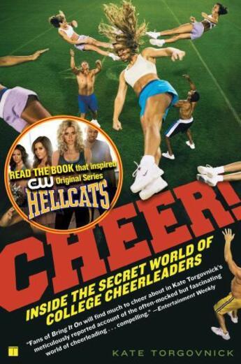 Couverture du livre « Cheer! » de Torgovnick Kate aux éditions Touchstone