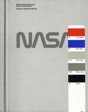 Couverture du livre « Nasa ; graphic design guide » de Danne & Blackburn aux éditions Empire