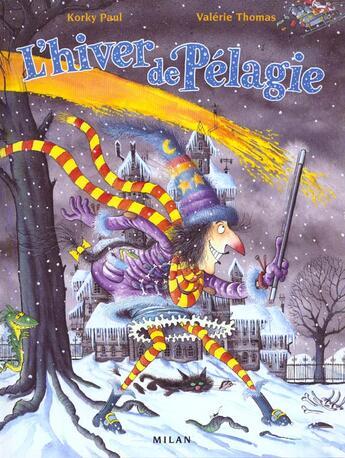 Couverture du livre « L'Hiver De Pelagie » de Valerie Thomas et Korky Paul aux éditions Milan
