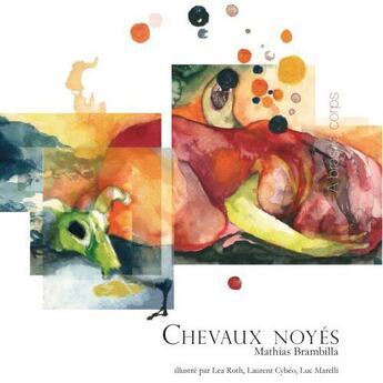 Couverture du livre « Chevaux noyés » de Brambilla aux éditions Metispresses
