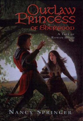 Couverture du livre « Outlaw Princess of Sherwood » de Nancy Springer aux éditions Penguin Group Us
