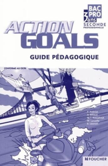 Couverture du livre « Anglais ; bac Pro 2nde professionnelle ; guide pédagogique » de Patrick Aubriet aux éditions Foucher