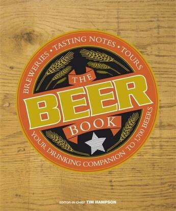 Couverture du livre « The Beer Book » de Tim Hampson aux éditions Dorling Kindersley Uk