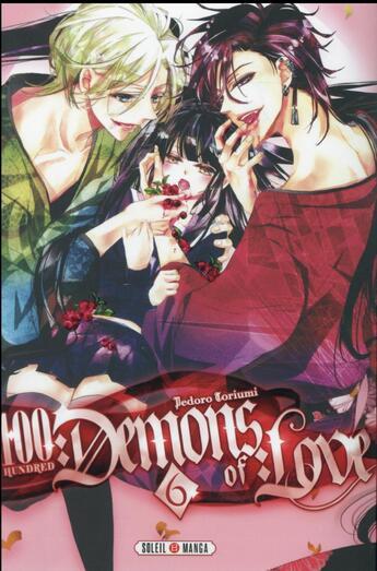 Couverture du livre « 100 demons of love t.6 » de Pedoro Toriumi aux éditions Soleil