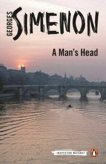 Couverture du livre « A Man's Head » de Georges Simenon aux éditions Penguin Group Us