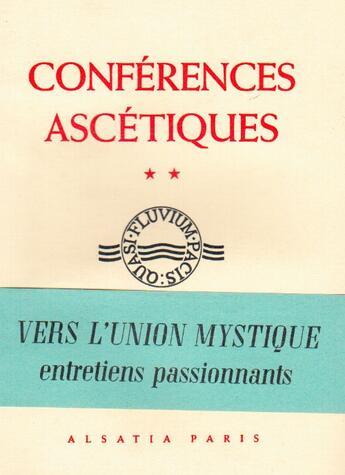 Couverture du livre « Conferences ascétiques » de Martin Dom Claude aux éditions Nel