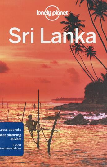Couverture du livre « Sri Lanka (13e édition) » de Ryan Ver Berkmoes aux éditions Lonely Planet France