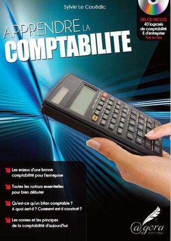 Couverture du livre « Apprendre la comptabilité » de Sylvie Le Couedic aux éditions Agora