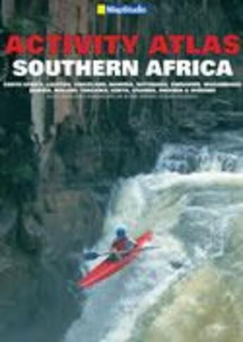 Couverture du livre « Activity atlas Southern Africa » de Collectif aux éditions Map Studio