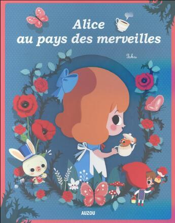 Couverture du livre « Alice au pays des merveilles » de Sophie De Mullenheim et Paku aux éditions Philippe Auzou