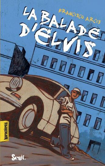 Couverture du livre « La balade d'Elvis » de Francisco Arcis aux éditions Seuil Jeunesse