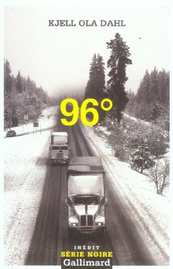 Couverture du livre « 96 » de Kjell Ola Dahl aux éditions Gallimard