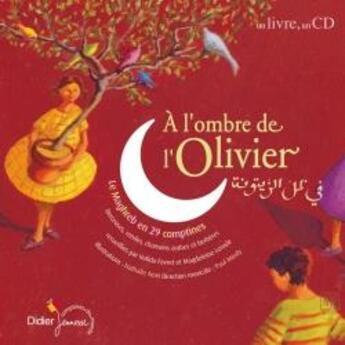 Couverture du livre « à l'ombre de l'olivier » de Magdeleine Lerasle aux éditions Didier Jeunesse