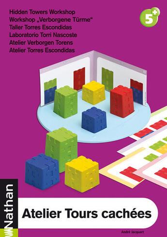 Couverture du livre « Atelier Tours Cachees » de Collectif aux éditions Nathan M&m