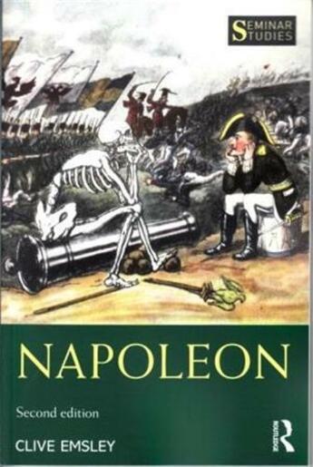 Couverture du livre « Napoleon (second edition) » de Emsley Clive aux éditions Interart