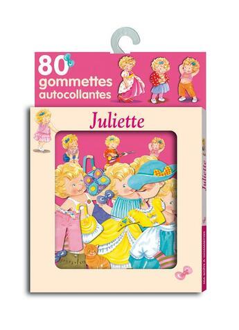 Couverture du livre « 80 gommettes Juliette » de Collectif aux éditions Lito