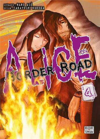 Couverture du livre « Alice on Border road T.4 » de Haro Aso et Takayoshi Kuroda aux éditions Delcourt