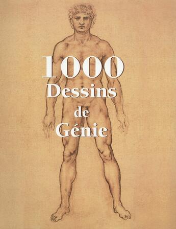 Couverture du livre « 1000 dessins de génie » de Klaus H. Carl aux éditions Parkstone International