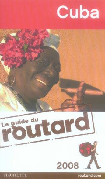 Couverture du livre « Guide Du Routard ; Cuba (Edition 2008) » de Collectif aux éditions Hachette Tourisme
