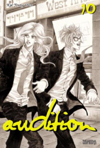 Couverture du livre « Audition t.10 » de Kye Young Chon aux éditions Saphira