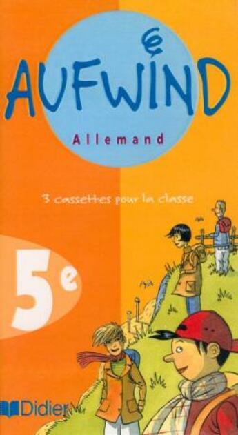 Couverture du livre « Allemand ; lv1 ; 5ème ; cassette audio de la classe » de N Biscons et M Dalmas et P Gericke et F Pernot aux éditions Didier