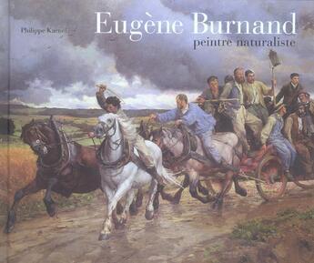 Couverture du livre « Eugene Burnand, Peintre Naturaliste » de Philippe Kaenel aux éditions Cinq Continents