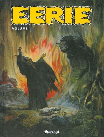 Couverture du livre « Anthologie Eerie 1- » de Collectif aux éditions Editions Delirium