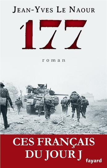 Couverture du livre « 177 » de Jean-Yves Le Naour aux éditions Fayard