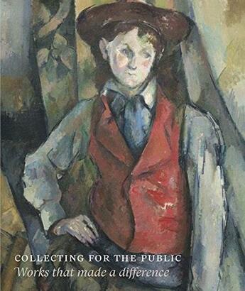 Couverture du livre « Collecting for the public : works that made a differenc » de Collectif aux éditions Paul Holberton