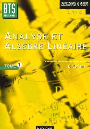 Couverture du livre « Sigma » de Bernard Verlant aux éditions Foucher
