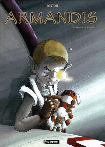 Couverture du livre « Armandis ; intégrale t.1 à t.4 » de Tonton aux éditions Paquet