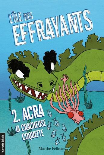 Couverture du livre « Acra, la cracheuse coquette » de Marthe Pelletier et Sara Fortier aux éditions Courte Echelle