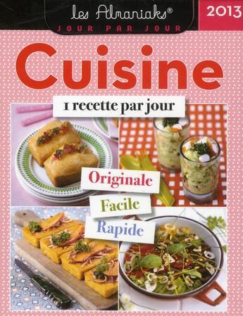 Couverture du livre « Almaniak cuisine