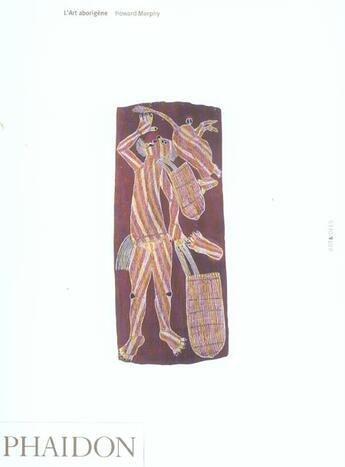 Couverture du livre « Art Aborigene » de Morphy H aux éditions Phaidon