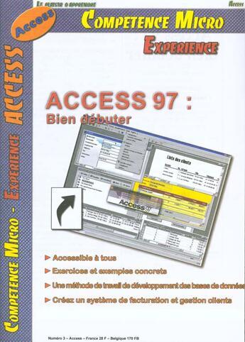 Couverture du livre « Access 95 et 97 ; bien démarrer CPM » de Collectif aux éditions Knowware