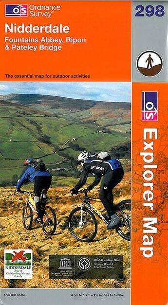 Couverture du livre « **Nidderdale » de Xxx aux éditions Ordnance Survey