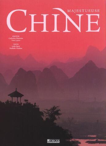 Couverture du livre « Chine » de Collectif aux éditions Atlas