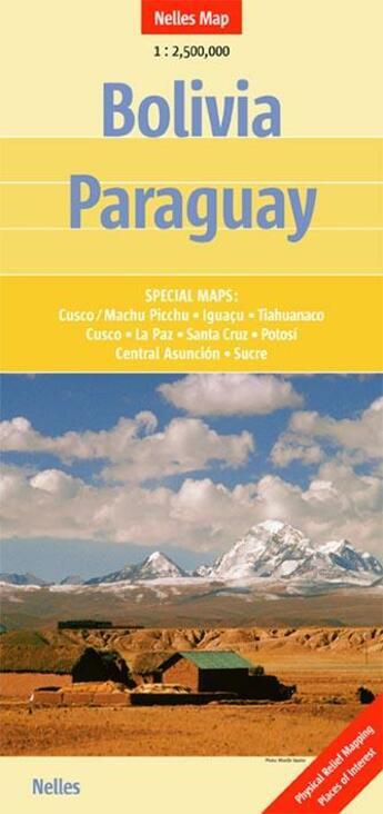 Couverture du livre « **bolivie paraguay » de Collectif aux éditions Nelles