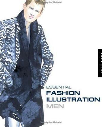 Couverture du livre « Essential fashion illustration men » de Wayne Chidy aux éditions Rockport