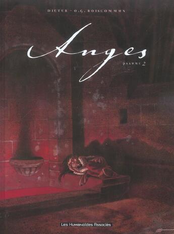 Couverture du livre « Anges t.2 ; psaumes » de Dieter aux éditions Humanoides Associes