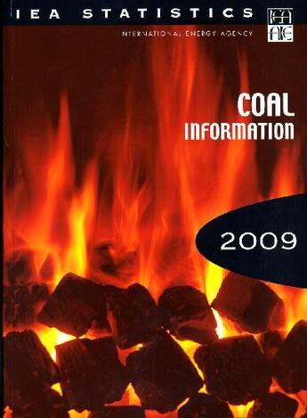 Couverture du livre « Coal information 2009 » de Collectif aux éditions Ocde