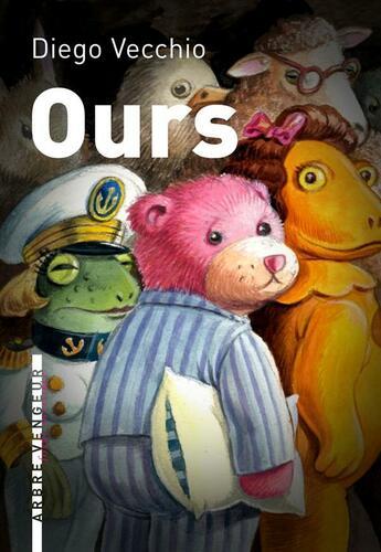 Couverture du livre « Ours » de Diego Vecchio aux éditions L'arbre Vengeur