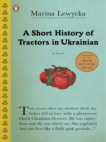 Couverture du livre « A Short History of Tractors in Ukrainian » de Marina Lewycka aux éditions Penguin Group Us