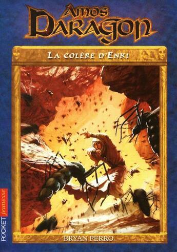 Couverture du livre « Amos daragon - tome 6 la colere d'enki » de Perro Bryan aux éditions Pocket Jeunesse
