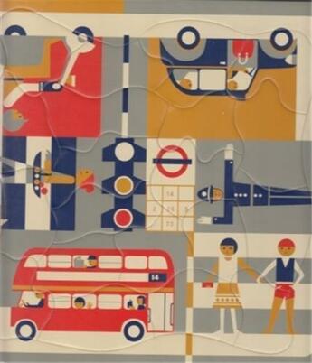 Couverture du livre « Fredun Shapur Puzzle Londres / London Multi View /Francais » de Fredun Shapur aux éditions Piqpoq
