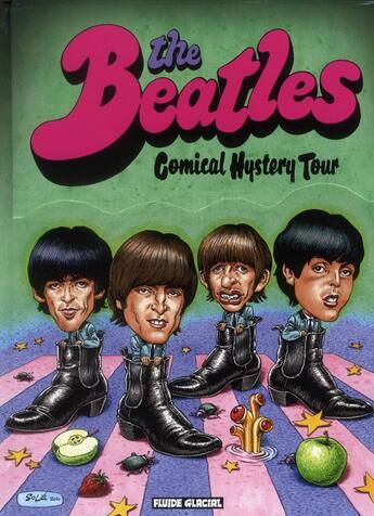 Couverture du livre « The Beatles comical hystery tour » de Collectif aux éditions Fluide Glacial