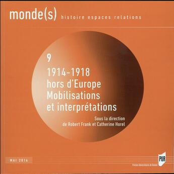 Couverture du livre « 1914 1918 Hors D Europe » de Frank aux éditions Pu De Rennes