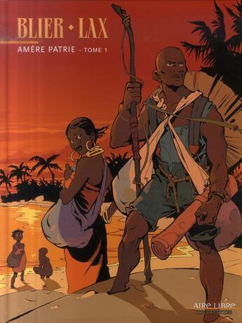 Couverture du livre « Amère patrie t.1 » de Blier/Lax aux éditions Dupuis
