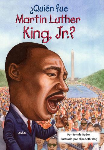 Couverture du livre « ÂQuién fue Martin Luther King, Jr.? » de Bonnie Bader aux éditions Penguin Group Us