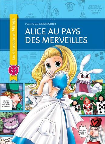 Couverture du livre « Alice au pays des merveilles » de Lewis Carroll et Junko Tamura aux éditions Nobi Nobi